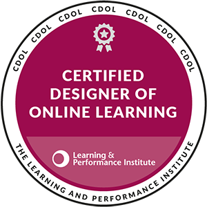 Certified Designer of Online Learning
